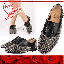 【Christian Louboutin ルブタン】Freddy Spikes スパイク Black