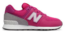 New Balance(ニューバランス) キッズスニーカー New Balance★574 Day and Night★Pink with Grey (17~21.5cm)