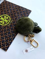 即発 TORY BURCH★Turtle Coin Pouch Key Fob 小銭入り*可愛い亀