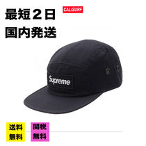 【国内発送最短2日】 FW16  SUPREME CAMO CAMP CAP /BLACK