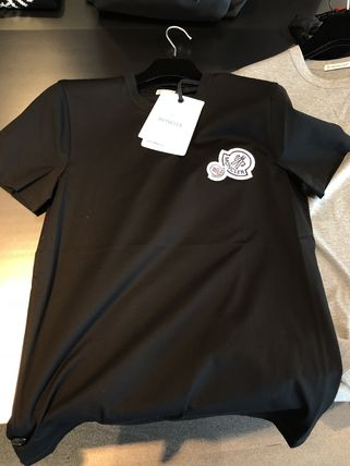 MONCLER Tシャツ・カットソー 【MONCLER】人気ダブルロゴ Tシャツ (5色)(3)