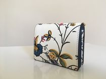 Tory Burch PARKER FLORAL MINI  WALLET セール 即発送