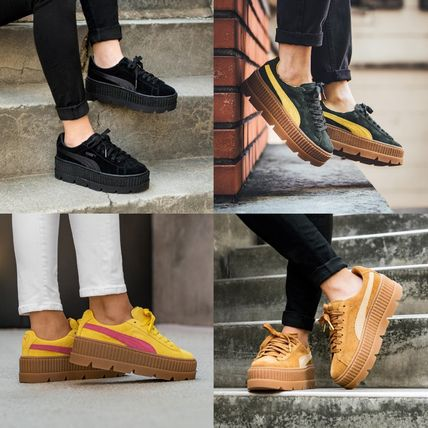 the latest 5ba80 f9c42 ★Puma x Fenty Cleated Creeper Suede0★選べる4色★プーマ