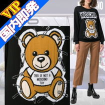 "◆◆VIP◆◆ Moschino ""Teddy Bear"" Wool セーター / 送税込"