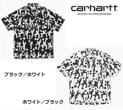 CARHARTT WIP S/S WORLD PARTY SHIRT WORLD PARTY PRINT