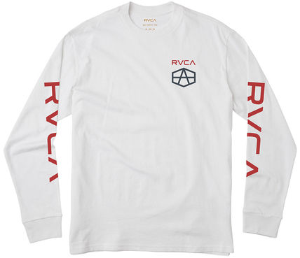 RVCA REYNOLDS HEX LONG SLEEVE T-SHIRT 2色