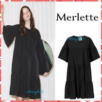 送料関税込★merlette★St-Germain Dress☆ワンピース☆Black