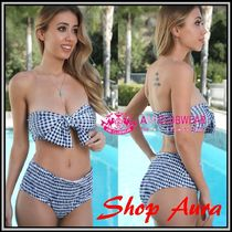 【送料無料!】★AMI Clubwear★cute♪High Waist  Bikini set