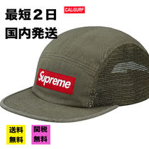 【最短2日】SS18 Supreme Mesh side Panel CAMP CAP/olive