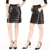 MONCLER Black Padded Skirt