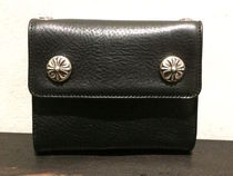 LITTLE SPOON WALLET BLACK HEAVY LEATHERインボイス付き