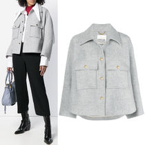 18-19AW C363 WOOL CAPE JACKET
