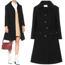 18-19AW C364 WOOL MELTON COAT