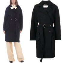 18-19AW C367 DOUBLE BREASTED WOOL COAT