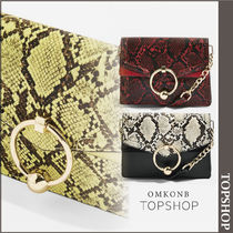 【国内発送・関税込】TOPSHOP★Snake Effect Cross Body Bag