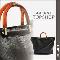 【国内発送・関税込】TOPSHOP★Sallie Tortoiseshell Handle Bag