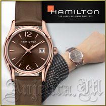 ★安心ヤマト便★Hamilton Jazzmaster Brown Watch H32341975
