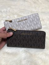 【即発◆3-5日着】MICHAEL KORS◆LOGO LG THREE QUARTER◆長財布