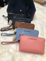 【即発◆3-5日着】MICHAEL KORS◆LG DOUBLE ZIP WRISTLET ポーチ