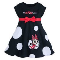 Minnie Mouse ''FaBOWlous'' Woven Dress for Baby
