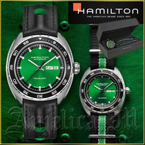 ★送料関税追跡込★Hamilton  Pan Europ Green Watch H35415761
