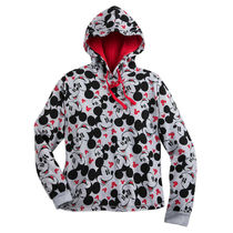 Mickey Mouse Allover Hoodie for Women