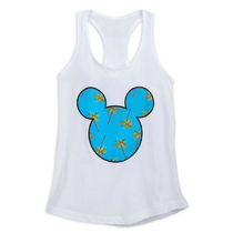 Mickey Mouse Palm Tree Tank Top by Neff for Women