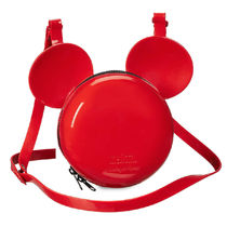 Mickey Mouse Crossbody Bag by Melissa - Red