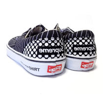 【Supreme】CDG SHIRT VANS ERA ブラック US8.5【VN-0W3CEG4】