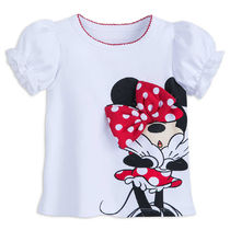 Minnie Mouse Bow T-Shirt for Girls - Disneyland