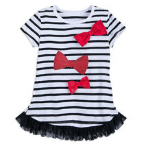 Minnie Mouse Striped Top for Girls