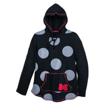 I Am Minnie Mouse Polka Dot Pullover Hoodie for Women