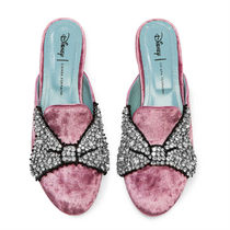 Minnie Mouse Bow Mules for Women by Chiara Ferragni - Pink