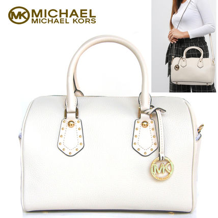 特別価格!Michael kors  ARIA MD SATCHEL 上質レザー2way