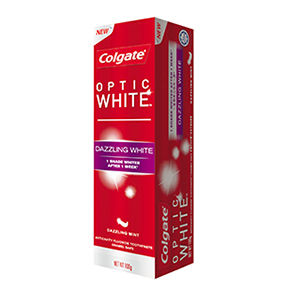 Colgate ホワイトニング 追跡有☆COLGATE OPTIC WHITE☆DAZZLING WHITE