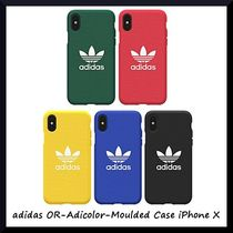 *adidas*衝撃吸収力抜群*OR-Adicolor-Moulded Case iPhone X*5色