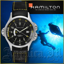 ★送料関税追跡込★Hamilton Khaki Navy GMT Watch H77645333
