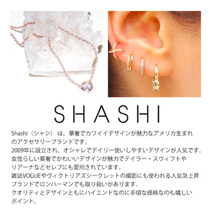 Ron Herman ネックレス・ペンダント RON HERMAN 取扱 SHASHI Solitaire Necklace ネックレス 18k(2)