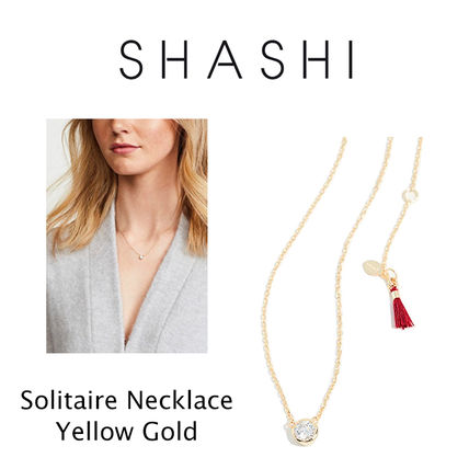 Ron Herman ネックレス・ペンダント RON HERMAN 取扱 SHASHI Solitaire Necklace ネックレス 18k(3)