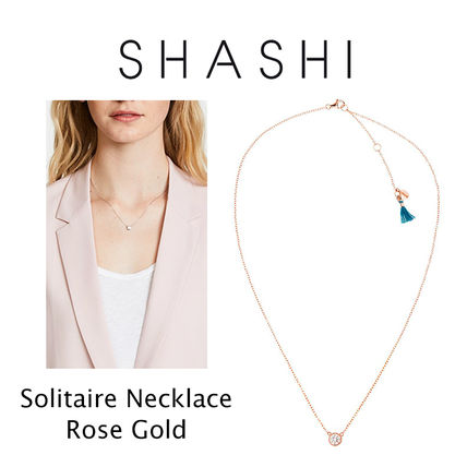Ron Herman ネックレス・ペンダント RON HERMAN 取扱 SHASHI Solitaire Necklace ネックレス 18k(4)