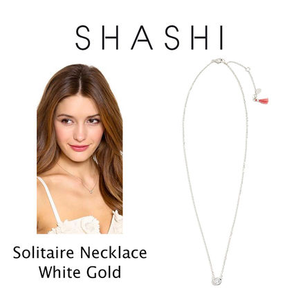 Ron Herman ネックレス・ペンダント RON HERMAN 取扱 SHASHI Solitaire Necklace ネックレス 18k(5)