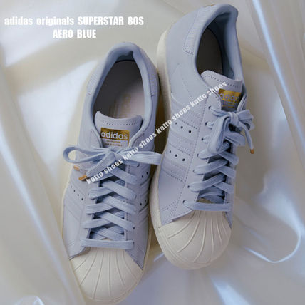 huge selection of b3d37 2f6ab adidas★SUPERSTAR 80S★ヌバック★AERO BLUE