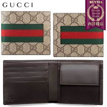 【正規品保証】GUCCI★18秋冬★WEB GG SUPREME COIN WALLET
