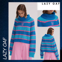 LAZY OAF Stripey Roll Neck Jumper セーター 長袖 ストライプ