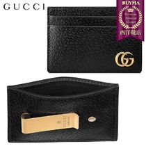【正規品保証】GUCCI★18秋冬★GG MARMONT LEATHER MONEY CLIP