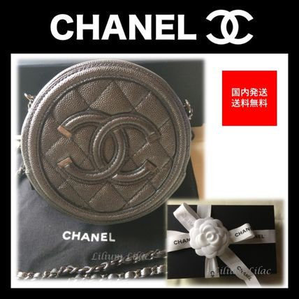 CHANEL 財布・小物その他 【国内発送・すぐ届く】CHANEL☆クラシック チェーンクラッチ