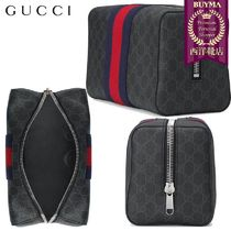 【正規品保証】GUCCI★18秋冬★GG SUPREME TOILETARY CASE