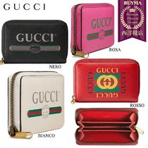 【正規品保証】GUCCI★18秋冬★GUCCI PRINT LEATHER CARD CASE