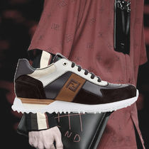 **FENDI**2018‐19AW FF logo lace-up sneakers スニーカー