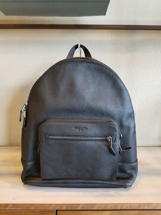 Coach バックパック・リュック 【即発3-5日着】COACH◆男性用WEST BACKPACK◆本皮製リュック◆(2)